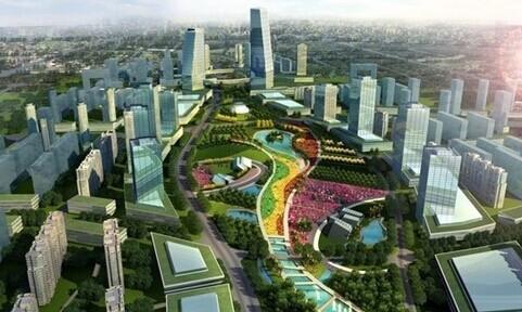 锦江现代田园城市示范区