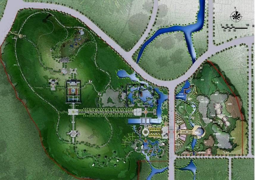 长兴县龙山公园设计规划