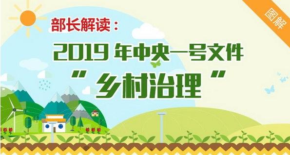 """2019年中央一号文件""""乡村治理"""""""