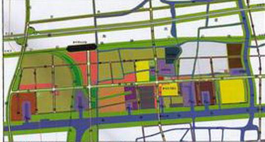 天津市宝坻区物流园区总体规划