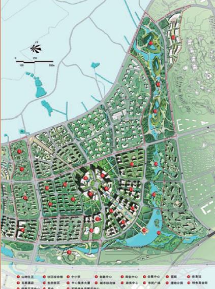 南京海峡两岸科技工业园总体概念规划